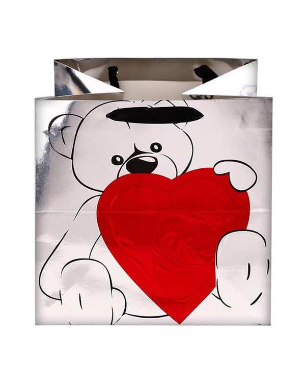 پاکت نقره ای خرس پالیز
