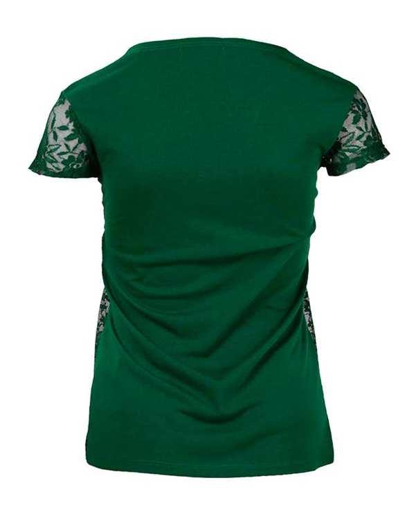 بلوز زنانه توری سبز Terranova