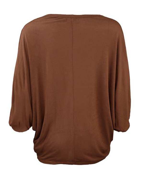 رویه لباس زنانه قهوهای Pull&Bear