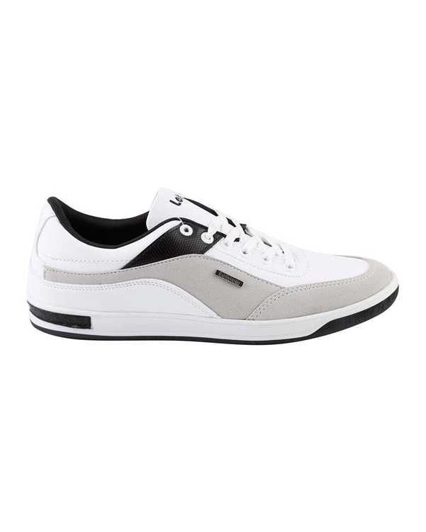 کفش ورزشی مردانه سفید طوسی Letoon