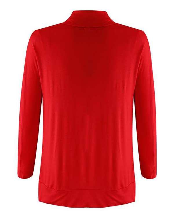 رویه لباس زنانه قرمز INC