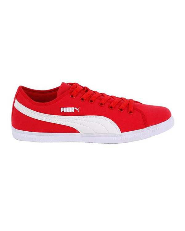 کفش ورزشی مردانه سفید قرمز  Elsu CV PUMA