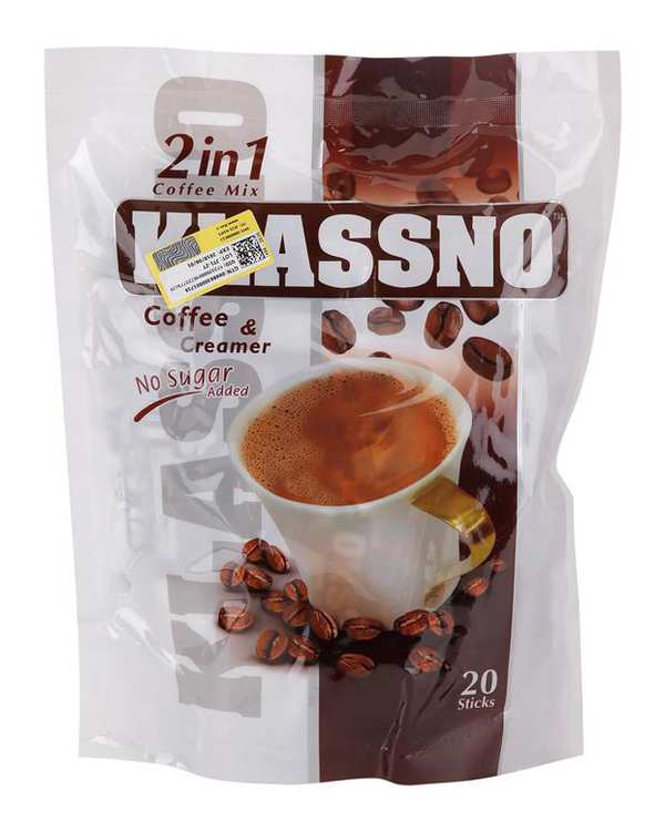 کافي ميکس بدون شکر 20 عددي 12 گرمي Klassno