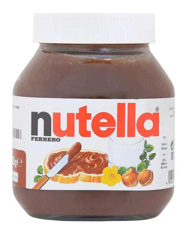 شکلات صبحانه بدون گلوتن 750 گرمي آلمان Nutella