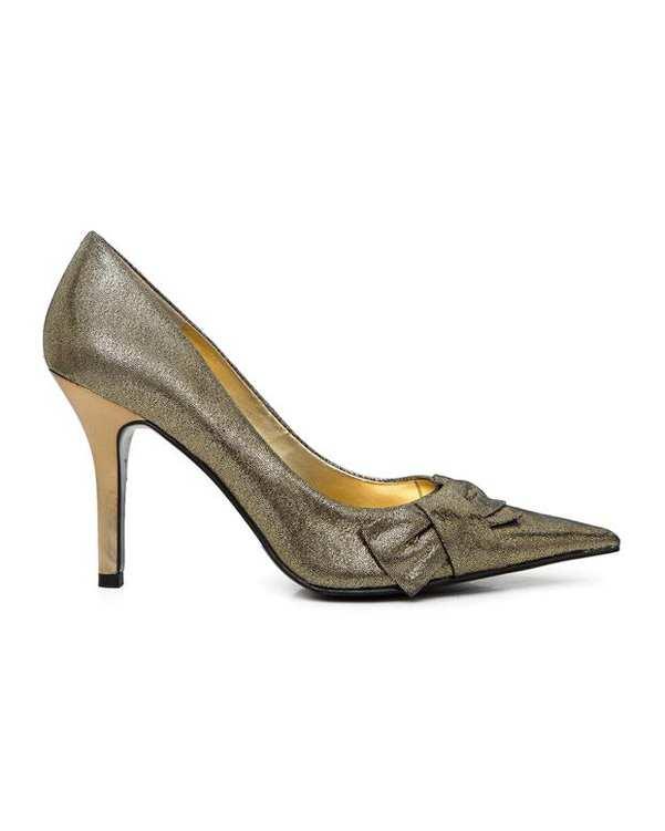 کفش رسمی زنانه طلایی NINE WEST