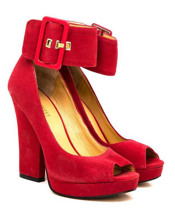 کفش مجلسی زنانه قرمز NINE WEST