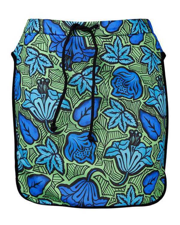 دامن ساحلی زنانه آبی سبز Zara