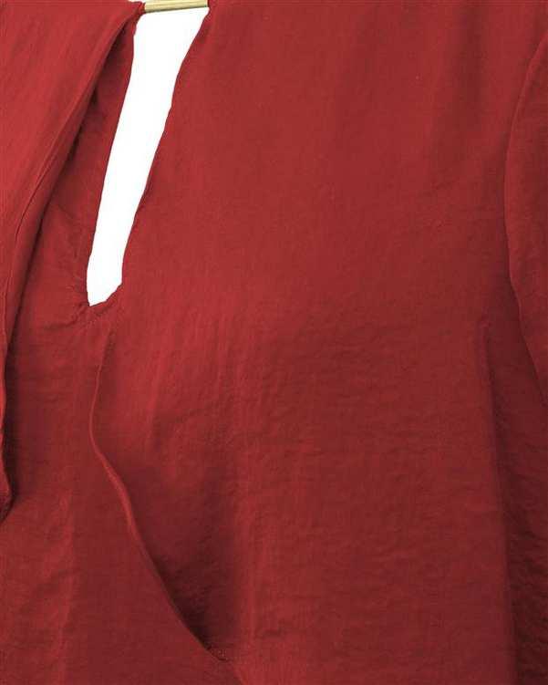 بلوز زنانه قرمز Suite Blanco