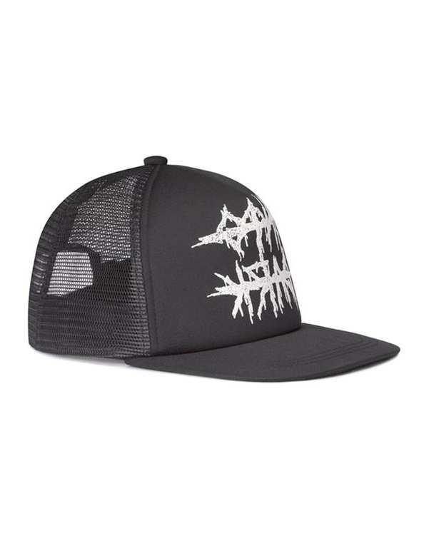 کلاه کپ توری مردانه مشکی H&M