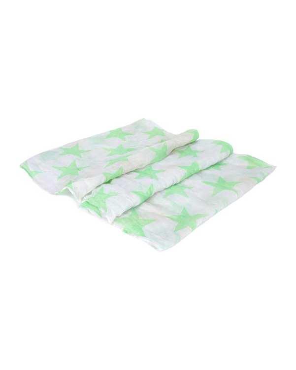 شال گردن سفید سبز Terranova
