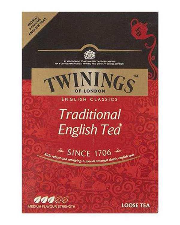 چای سیاه سنتی انگلیسی 100 گرمی Twinings