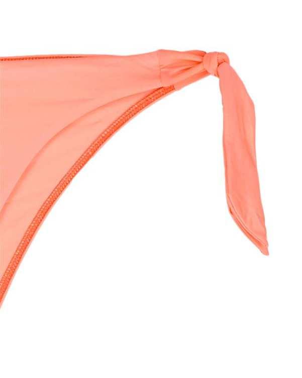 مایو گرهای پایینتنه زنانه نارنجی نئونی Oysho