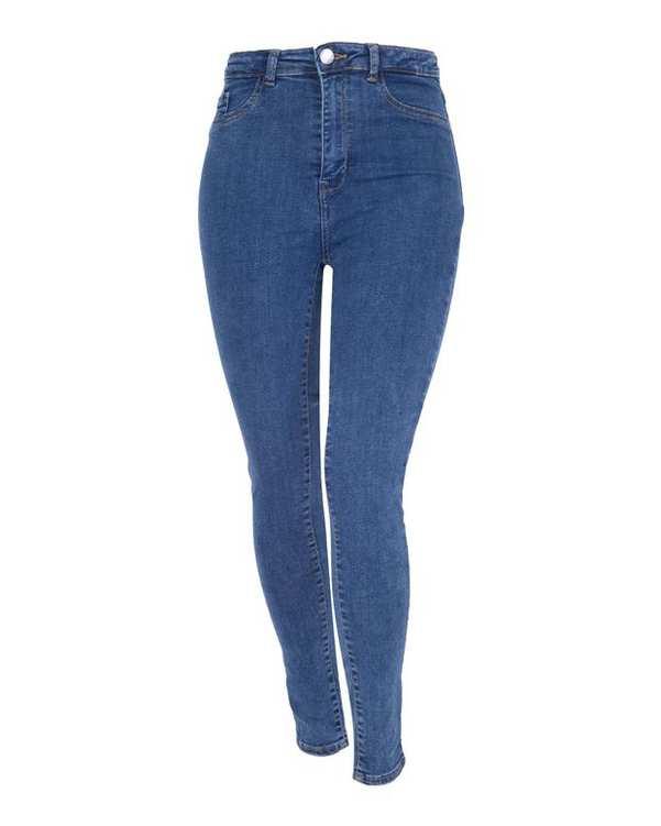 شلوار جین زنانه آبی تیره Tally Weijl
