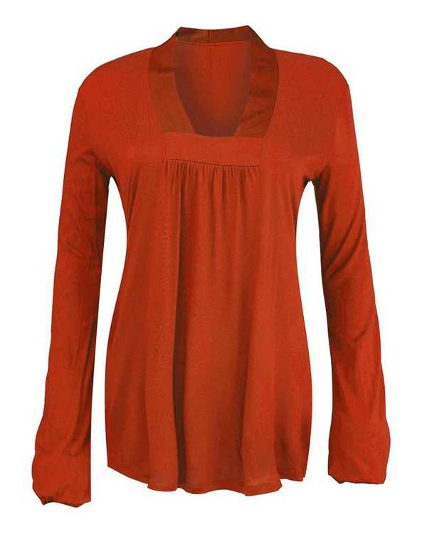 بلوز زنانه قرمز Zara