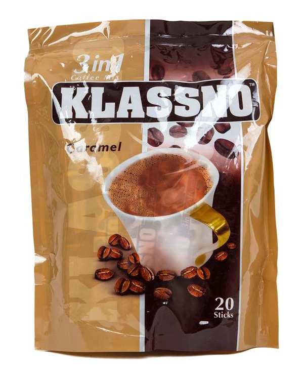 کافی میکس 20 عددی 3 در 1 Klassno Caramel