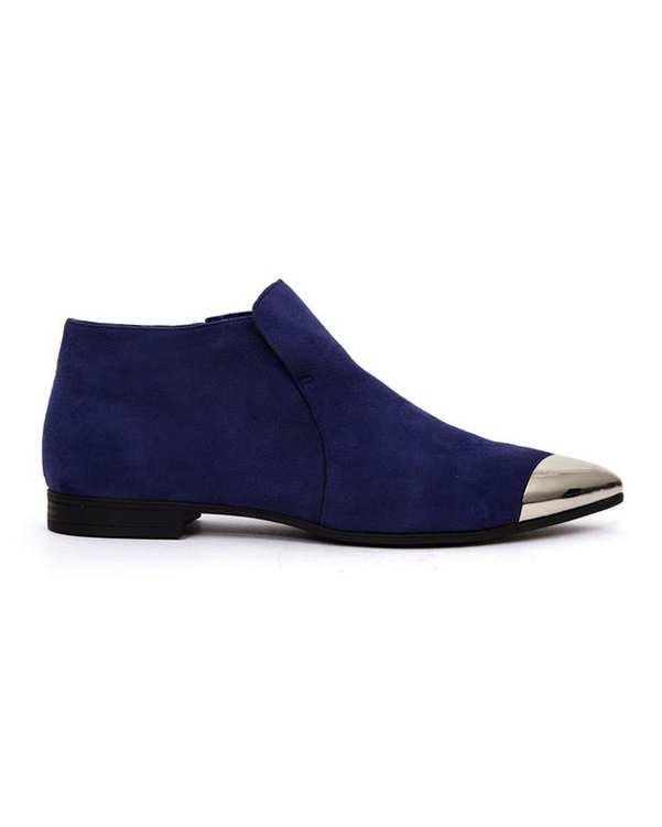 کفش زنانه آبی کاربنی Charles & Keith