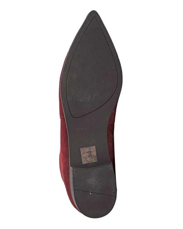 کفش زنانه زرشکی Charles & Keith