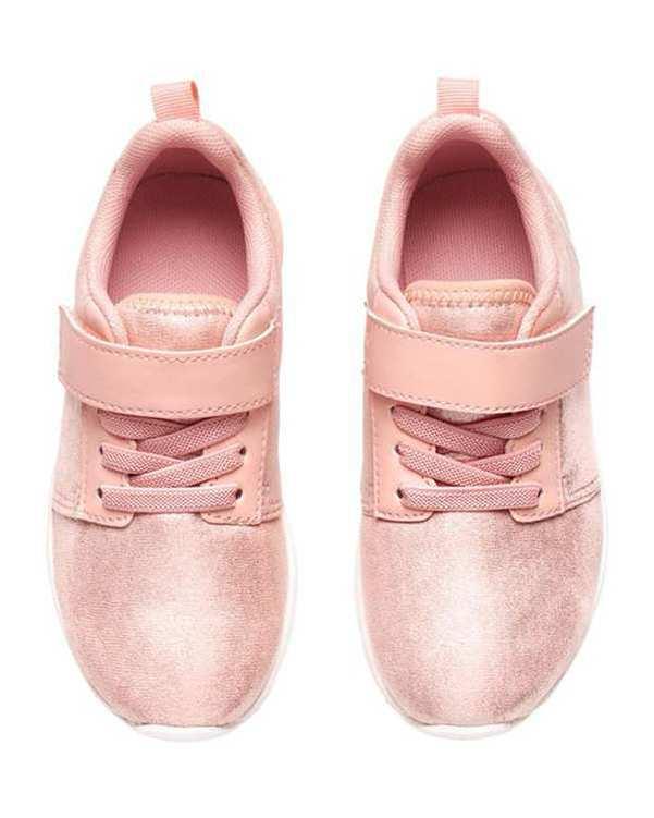 کفش کژوال دخترانه صورتی H&M