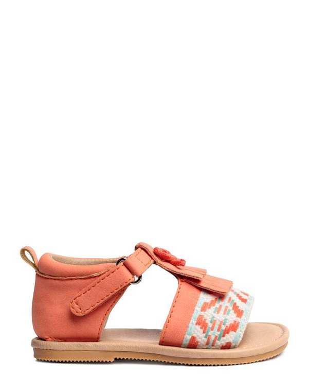 صندل دخترانه نارنجی H&M