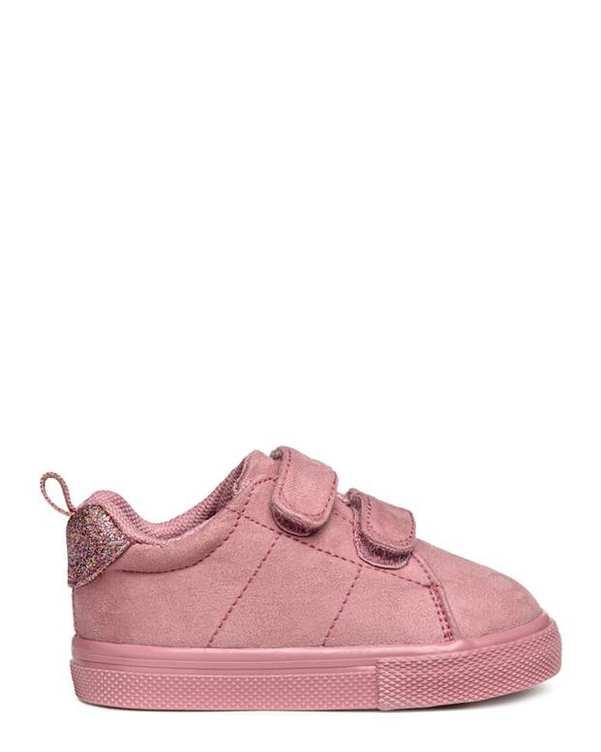 کفش دخترانه کژوال صورتی مات H&M