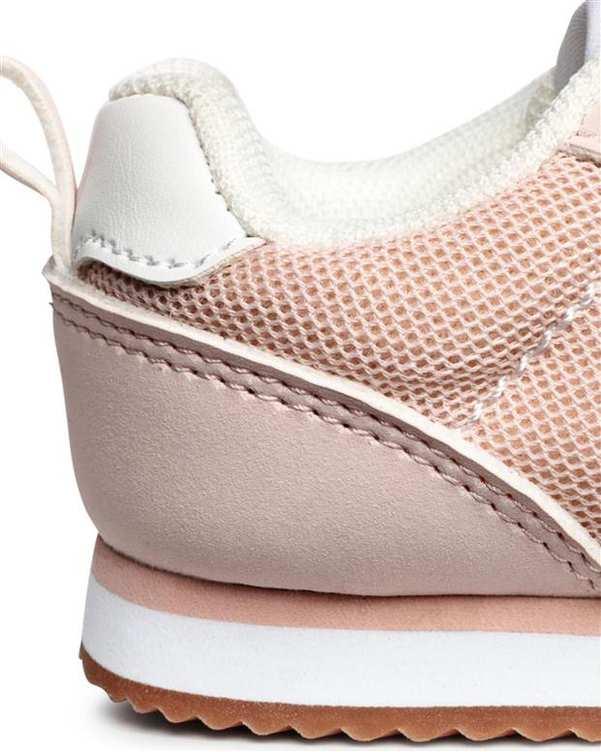 کفش دخترانه کژوال گلبهی H&M