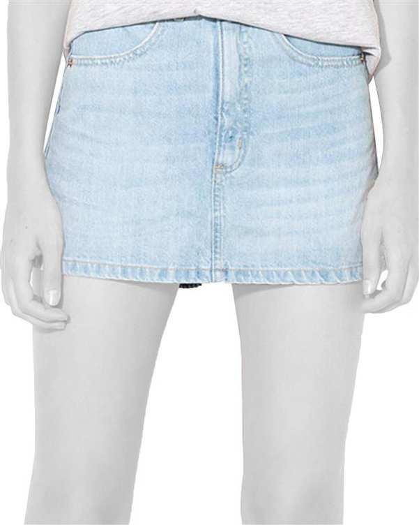 شلوارک زنانه جین آبی روشن Tally Weijl
