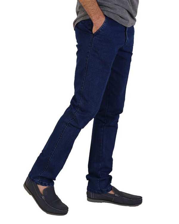 شلوار مردانه جین آبی تیره LRC