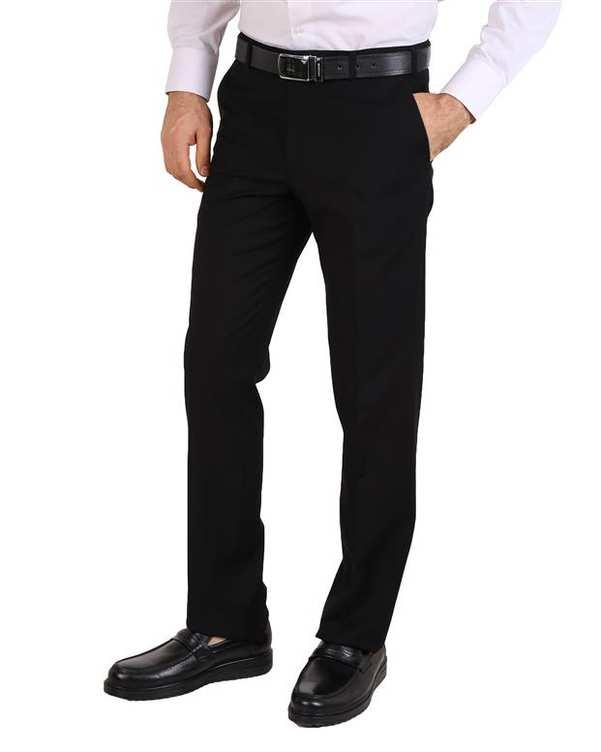 شلوار مردانه پارچه ای مشکی LRC