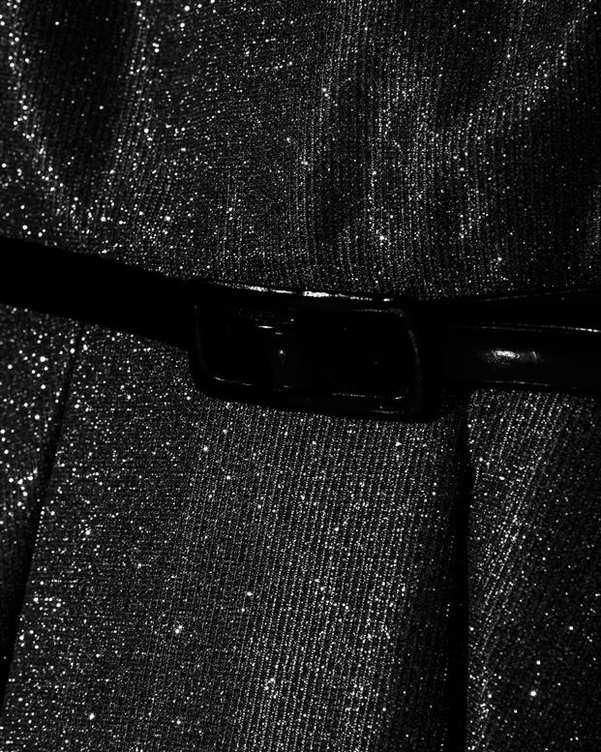 لباس مجلسی زنانه لمه مشکی Vichy