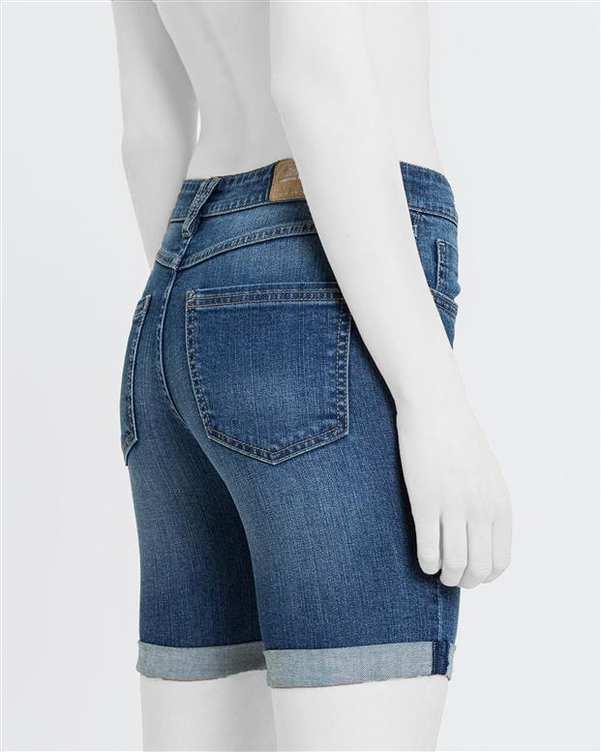شلوارک زنانه جین آبی Diverse