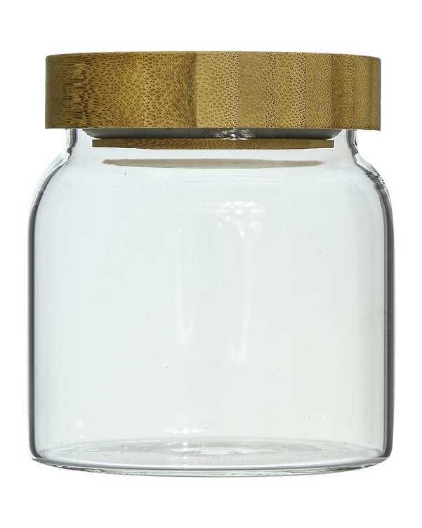 بانکه کوچک استوانه شیشه ای Vintage