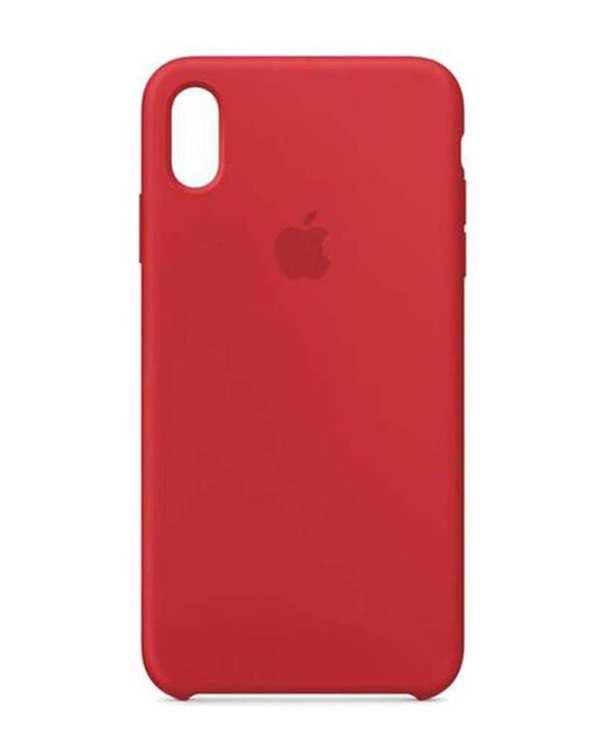 کاور سیلیکونی گوشی موبایل آیفون iPhone XS Max قرمز