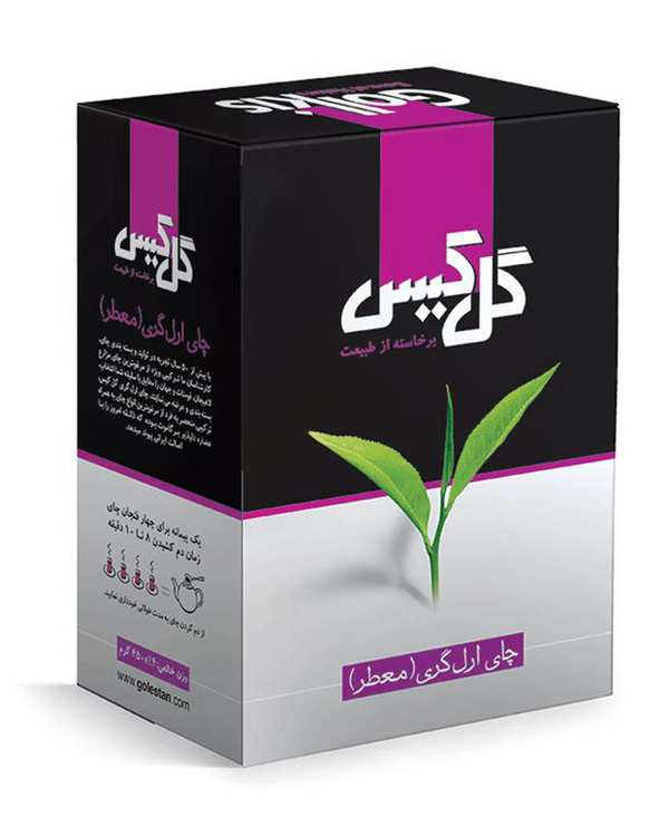 چای ارل گری 450 گرمی گل کیس