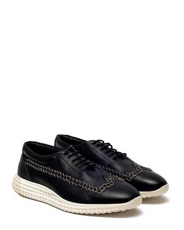 کفش چرم مردانه کژوال Maxwell مشکی Artman