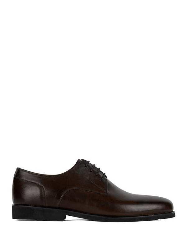 کفش چرم مردانه کژوال Seth 2 قهوه ای تیره Artman