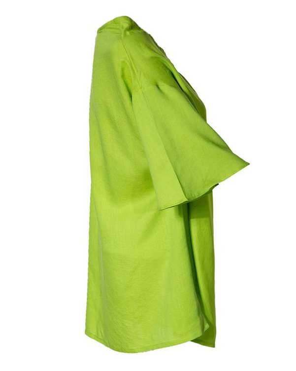 بلوز زنانه سبز روشن کیکی رایکی