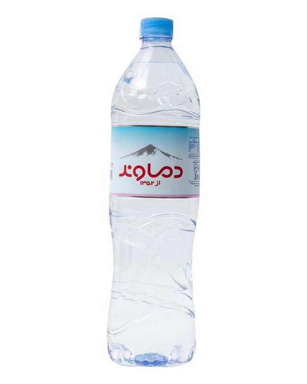 آب معدنی 1.5 لیتری دماوند