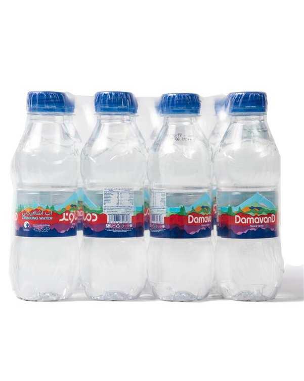 بسته 12 عددی آب معدنی 296 میلی لیتری دماوند