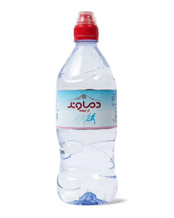 بسته 6 عددی آب معدنی 820 میلی لیتری دماوند