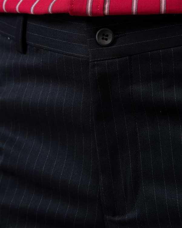 شلوار مردانه پارچه ای مشکی دیپلمات Borcello