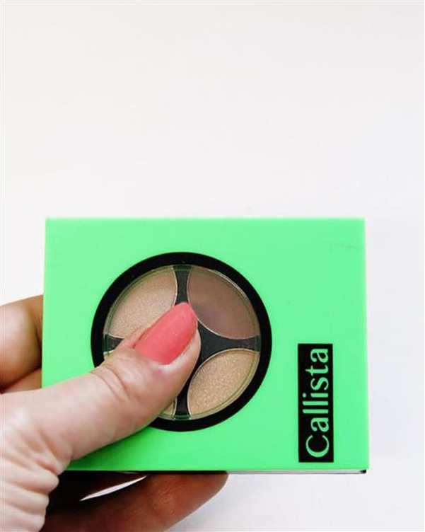 سایه چشم براق Quattro Eye Design چهار رنگ E21 کالیستا