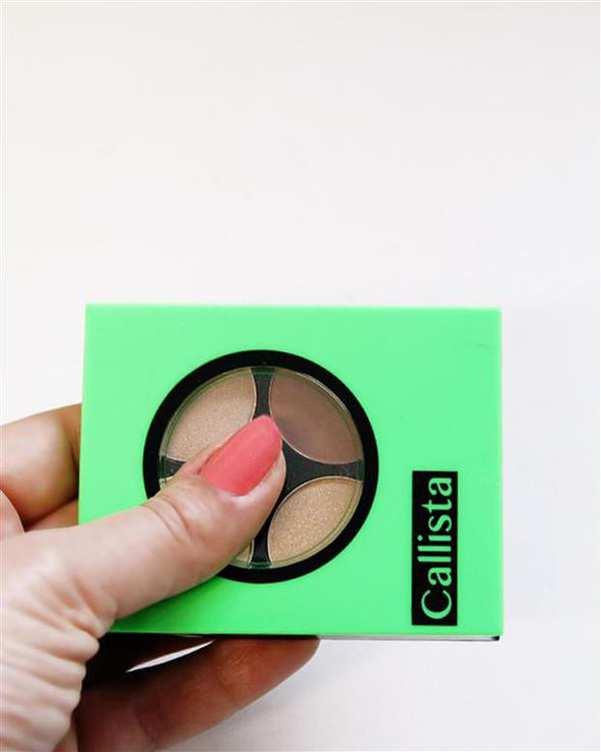 سایه چشم براق Quattro Eye Design چهار رنگ E23 کالیستا