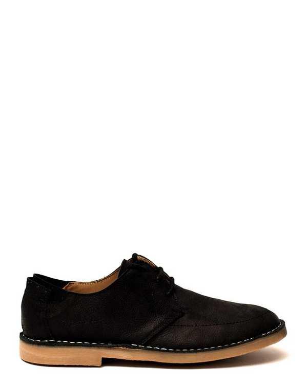 کفش چرم مردانه/زنانه کژوال بندی Ashley مشکی Artman