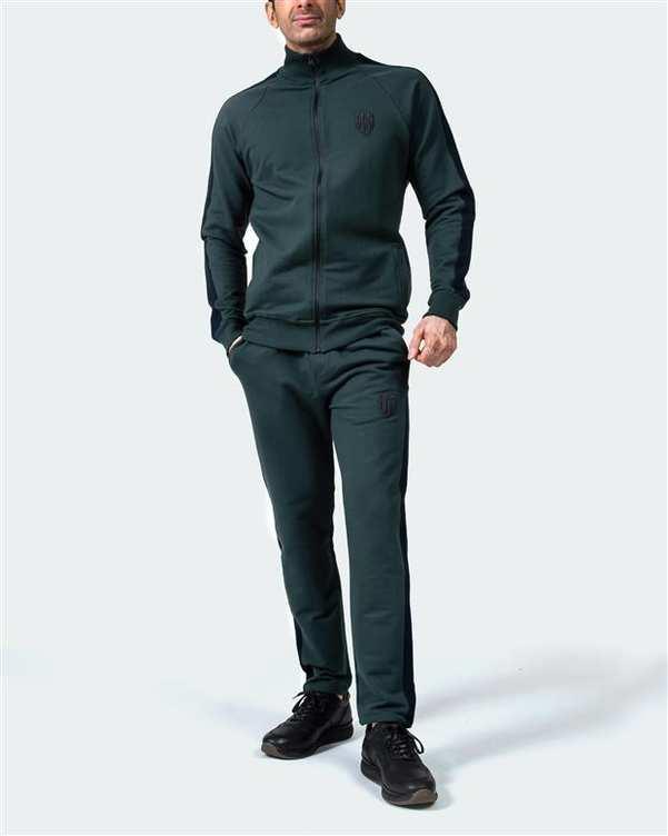 ست گرمکن مردانه سبز سرمه ای هوگرو