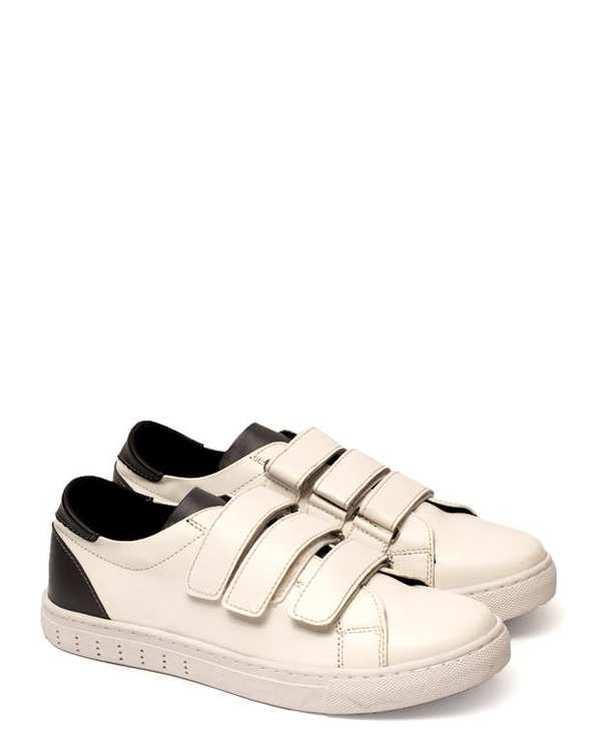 کفش مردانه 3 چسب سفید هوگرو