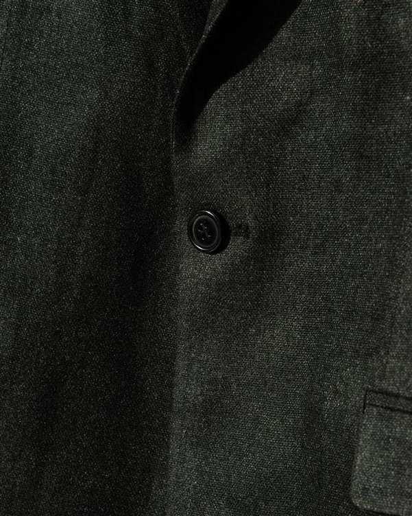 کت مردانه پشمی زغالی Bernardo