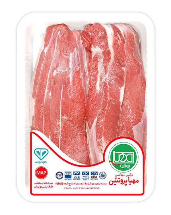 گوشت ماهیچه گوساله 1 کیلویی مهیا پروتئین