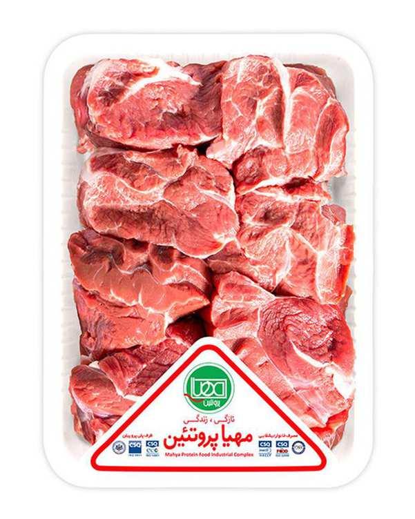 گوشت رولت ماهیچه گوساله 1 کیلویی مهیا پروتئین