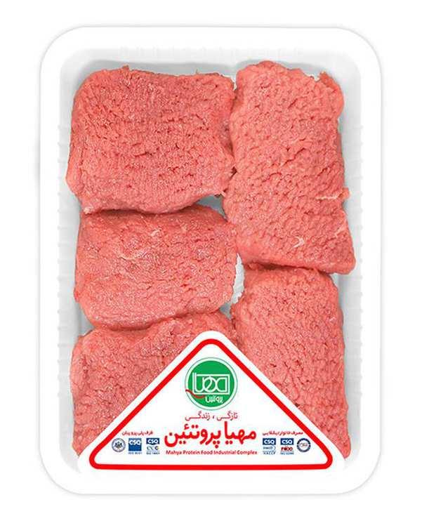گوشت بیفتک گوساله 500 گرمی مهیا پروتئین