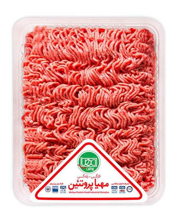 گوشت چرخکرده گوساله 500 گرمی مهیا پروتئین